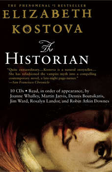 the historian elizabeth kostova audiobook
