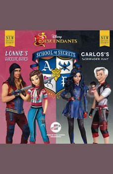 Disney Descendants: School of Secrets: Books 4 & 5: Lonnie's Warrior Sword & Carlos's Scavenger Hunt Lonnie's Warrior Sword & Carlos's Scavenger Hunt, Jessica Brody