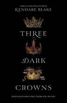 Three Dark Crowns, Kendare Blake
