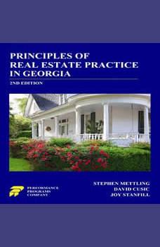 Principles of Real Estate Practice in Georgia 2nd Edition, Stephen Mettling