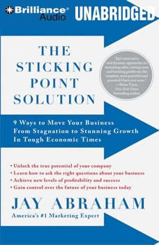 The Sticking Point Solution: 9 Ways to Move Your Business From Stagnation to Stunning Growth In Tough Economic Times, Jay Abraham