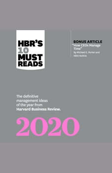HBRs 10 Must Reads 2020, Harvard Business Review