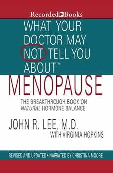 What Your Doctor May Not Tell You About: Menopause: The Breakthrough Book on Natural Progesterone The Breakthrough Book on Natural Progesterone, John R. Lee
