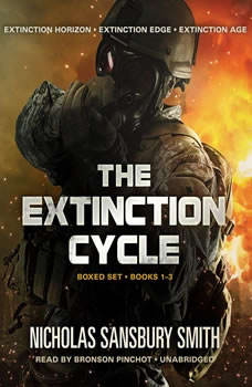The Extinction Cycle Boxed Set: Extinction Horizon, Extinction Edge, and Extinction Age Extinction Horizon, Extinction Edge, and Extinction Age, Nicholas Sansbury Smith