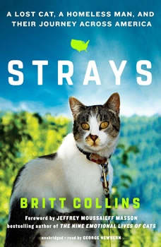 Strays: A Lost Cat, a Homeless Man, and Their Journey across America, Britt Collins