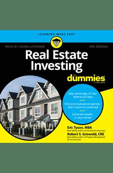Real Estate Investing for Dummies: 4th Edition, MBA Griswold