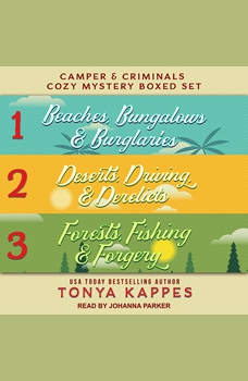 Camper and Criminals Cozy Mystery Boxed Set: Books 1-3, Tonya Kappes