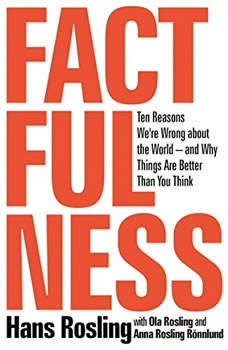 Factfulness: Ten Reasons We're Wrong About the Worldand Why Things Are Better Than You Think, Hans Rosling