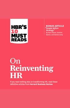 HBR's 10 Must Reads on Reinventing HR, Marcus Buckingham