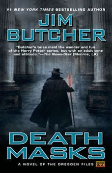 Death Masks, Jim Butcher