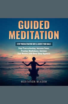 Guided Meditation - Stop Procrastination NOW & Achieve Your Goals: Stop Procrastinating, Increase Focus, Practice Mindfulness, Increase Your Memory with Deep Sleep Hypnosis, Meditation Meadow