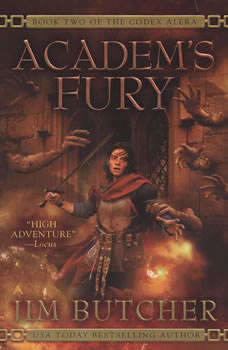 Academ's Fury: Book Two of the Codex Alera Book Two of the Codex Alera, Jim Butcher