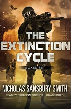 The Extinction Cycle Boxed Set, Books 46: Extinction Evolution, Extinction End, and Extinction Aftermath Extinction Evolution, Extinction End, and Extinction Aftermath, Nicholas Sansbury Smith