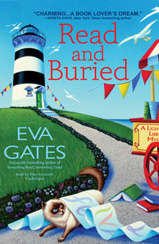 Read and Buried: A Lighthouse Library Mystery, Eva Gates