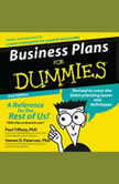 Business Plans for Dummies 2nd Ed., Paul Tiffany
