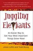 Juggling Elephants An Easier Way to Get Your Most Important Things Done--Now!, Jones Loflin