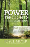 Power Thoughts Devotional 365 Daily Inspirations for Winning the Battle of the Mind, Joyce Meyer