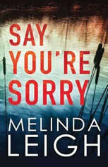 Say You're Sorry, Melinda Leigh