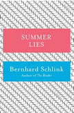 Summer Lies, Bernhard Schlink