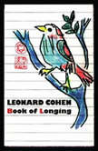 Book of Longing, Leonard Cohen