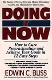 Doing it Now How To Cure Procrastination And Achieve Your Goals In Twelve Easy Steps, Edwin Bliss