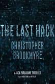 The Last Hack A Jack Parlabane Thriller, Christopher Brookmyre