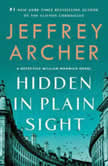 Hidden in Plain Sight A Detective William Warwick Novel, Jeffrey Archer