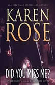 Did You Miss Me?, Karen Rose