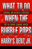 What to Do When the Bubble Pops Personal and Business Strategies for the Coming Economic Winter, Harry S. Dent