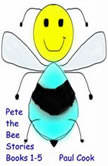 Pete the Bee Books 1-5, Paul Cook
