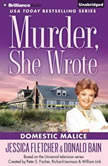 Murder, She Wrote: Domestic Malice, Jessica Fletcher