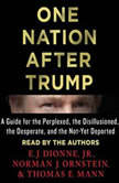 One Nation After Trump A Guide for the Perplexed, the Disillusioned, the Desperate, and the Not-Yet Deported, E.J. Dionne, Jr.