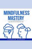 MINDFULNESS MASTERY : Learn How To Live A Stress Free Life, Cameron Dawson