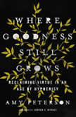 Where Goodness Still Grows Reclaiming Virtue in an Age of Hypocrisy, Amy Peterson