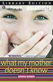 What My Mother Doesn't Know, Sonya Sones