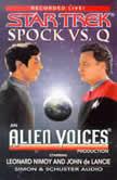 Spock Vs Q, Leonard Nimoy