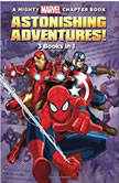 Astonishing Adventures! 3 Books in 1!, Marvel Press