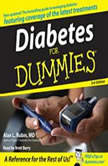 Diabetes For Dummies 3rd Edition, Alan Rubin