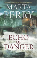 Echo of Danger A Romance Novel (Echo Falls, #1), Marta Perry