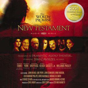 NKJV Word of Promise Audio Bible New Testament, Jim Caviezel