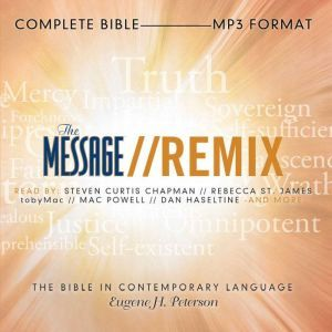 The Message Remix Bible Complete Bible, Eugene H Peterson