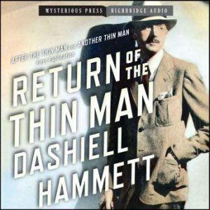Return of the Thin Man, Dashiell Hammett