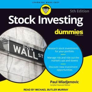 Stock Investing For Dummies 5th Edition, Paul J. Mladjenovic