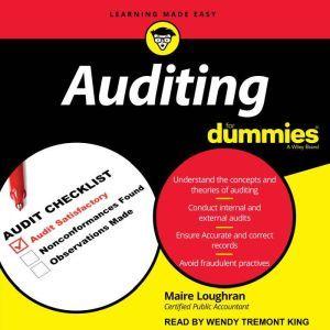 Auditing for Dummies, Marie Loughran