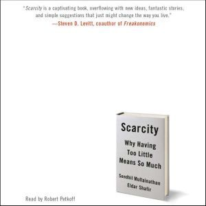 Scarcity Why Having Too Little Means So Much, Sendhil Mullainathan