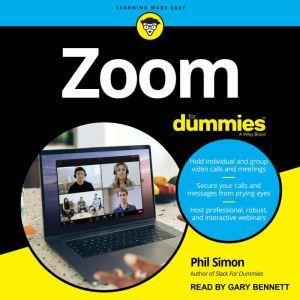 Zoom For Dummies, Phil Simon