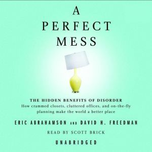 A Perfect Mess The Hidden Benefits of Disorder--How Crammed Closets, Cluttered Offices, and On-the-Fly Planning Make the World a Better Place, Eric Abrahamson