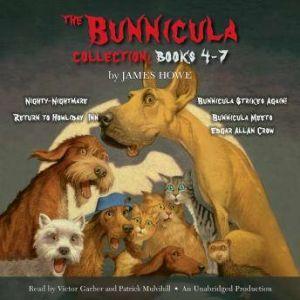 The Bunnicula Collection: Books 4-7 Nighty-Nightmare; Return to Howliday Inn; Bunnicula Strikes Again!; Bunnicula Meets Edgar Allan Crow, James Howe