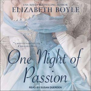 One Night of Passion, Elizabeth Boyle