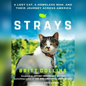 Strays A Lost Cat, a Homeless Man, and Their Journey across America, Britt Collins